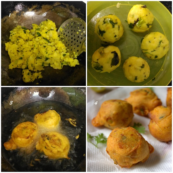 Image result for how to make batata vada