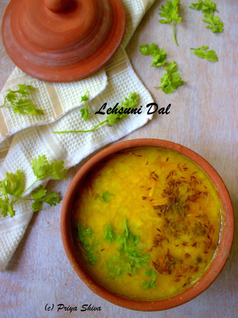Lehsuni Dal Tadka Recipe