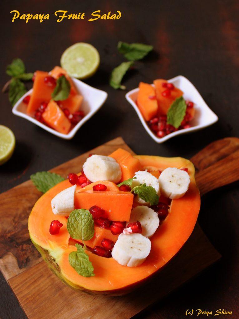 Papaya Fruit Salad