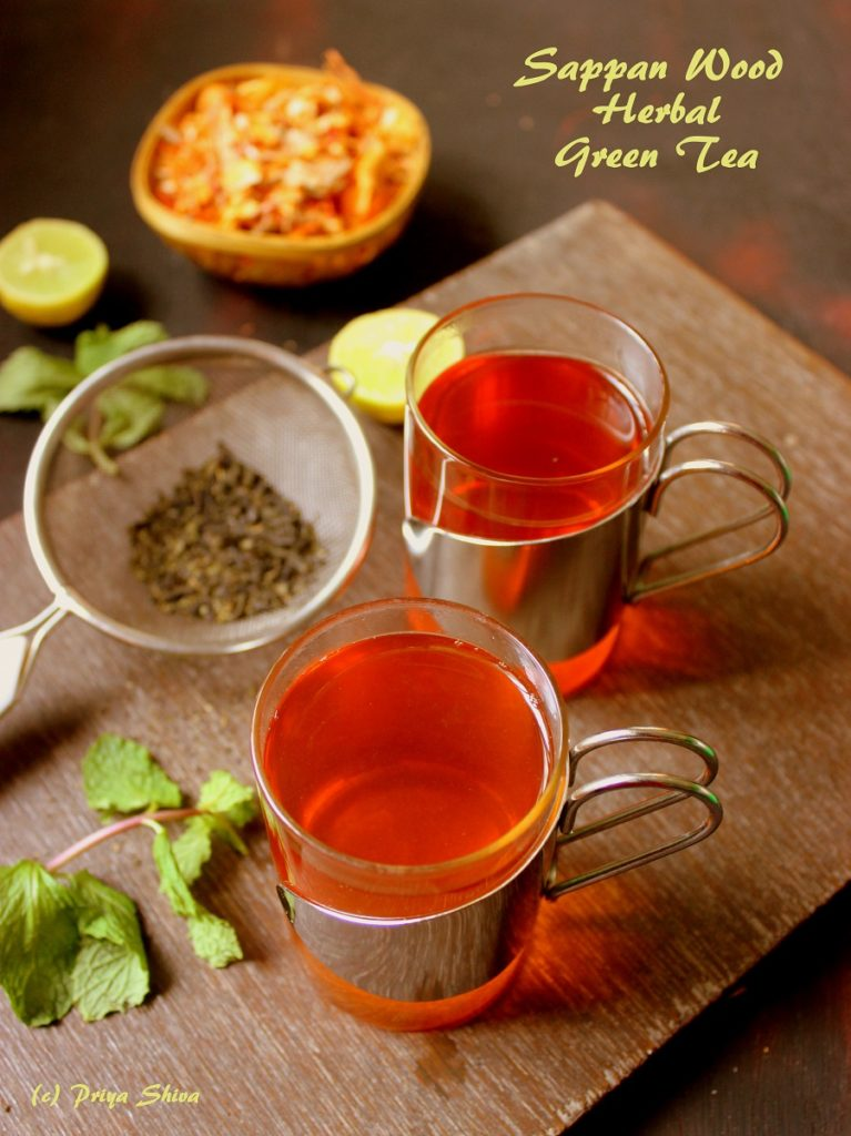 Sappan Wood Herbal Green Tea