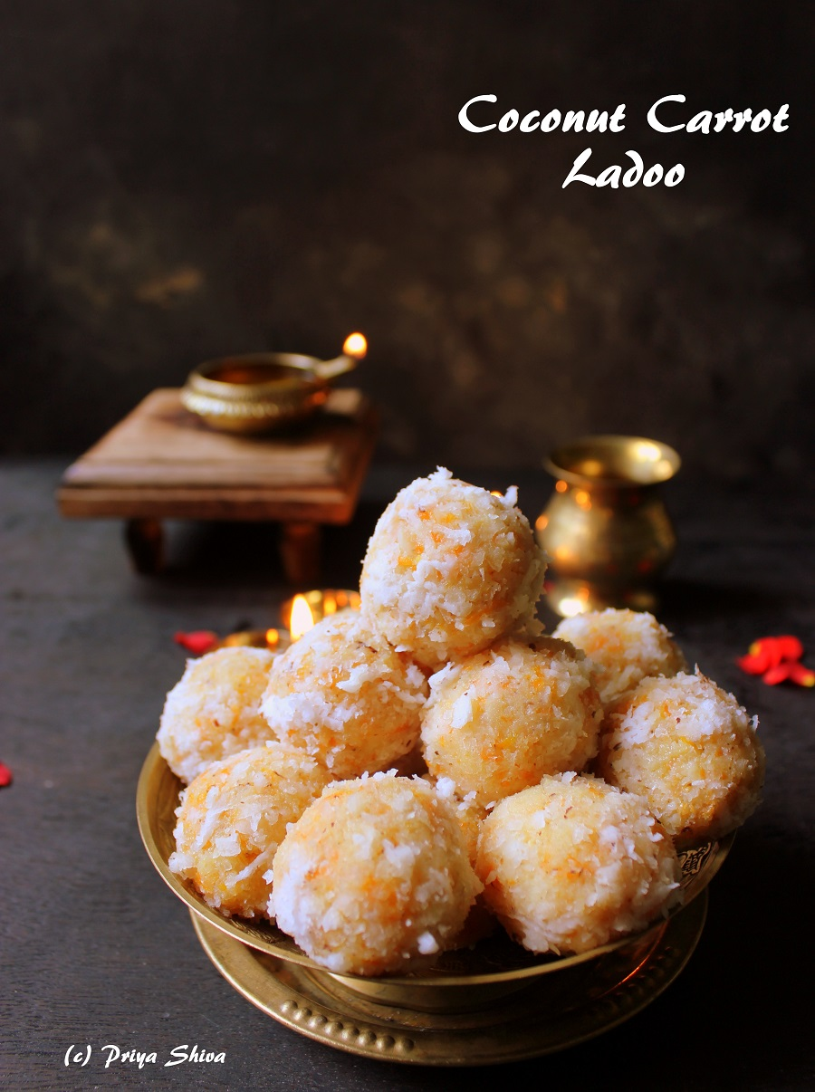 Coconut carrot ladoo recipe forumfinder