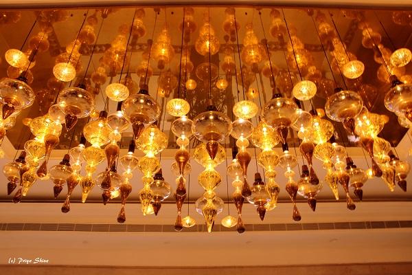 Grand GRT Hotels chandelier