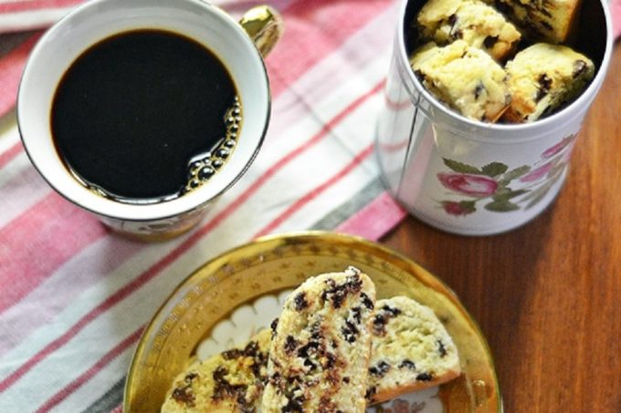 Orange Chocolate Chip Biscotti – Guest Post by Rafeeda