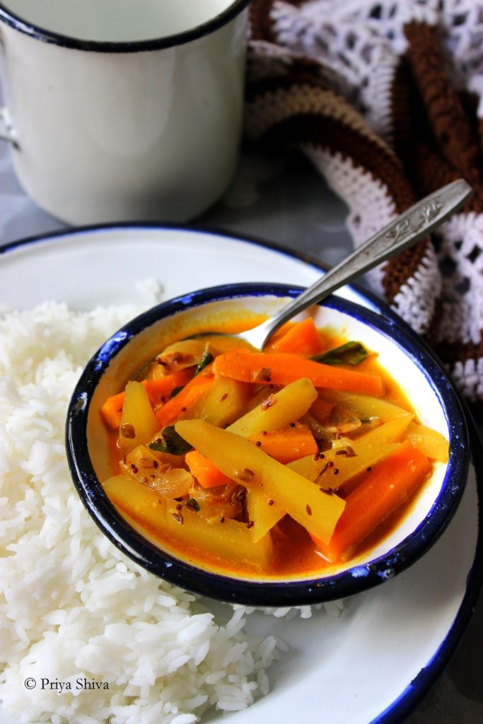 Pacha Manga Curry – Raw mango Curry