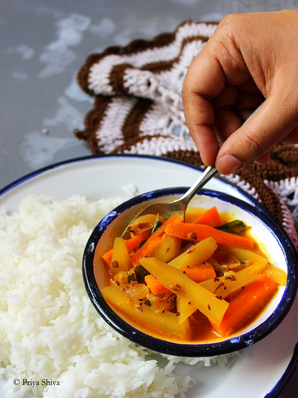 raw mango curry
