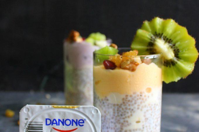 Danone Yoghurt Chia Seed Fruit Parfait