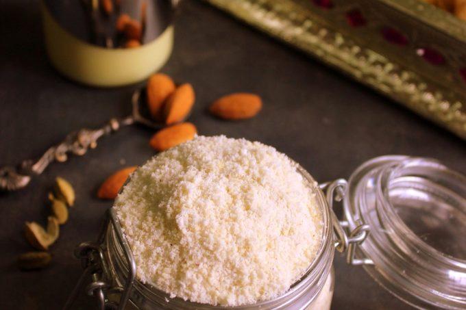 Kesar Badam Powder Recipe