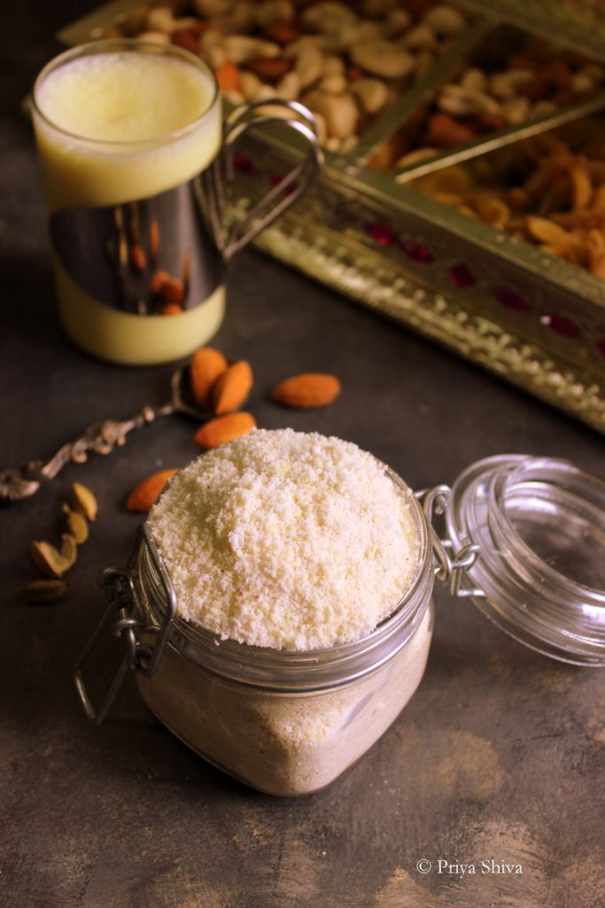 Kesar Badam Powder Recipe