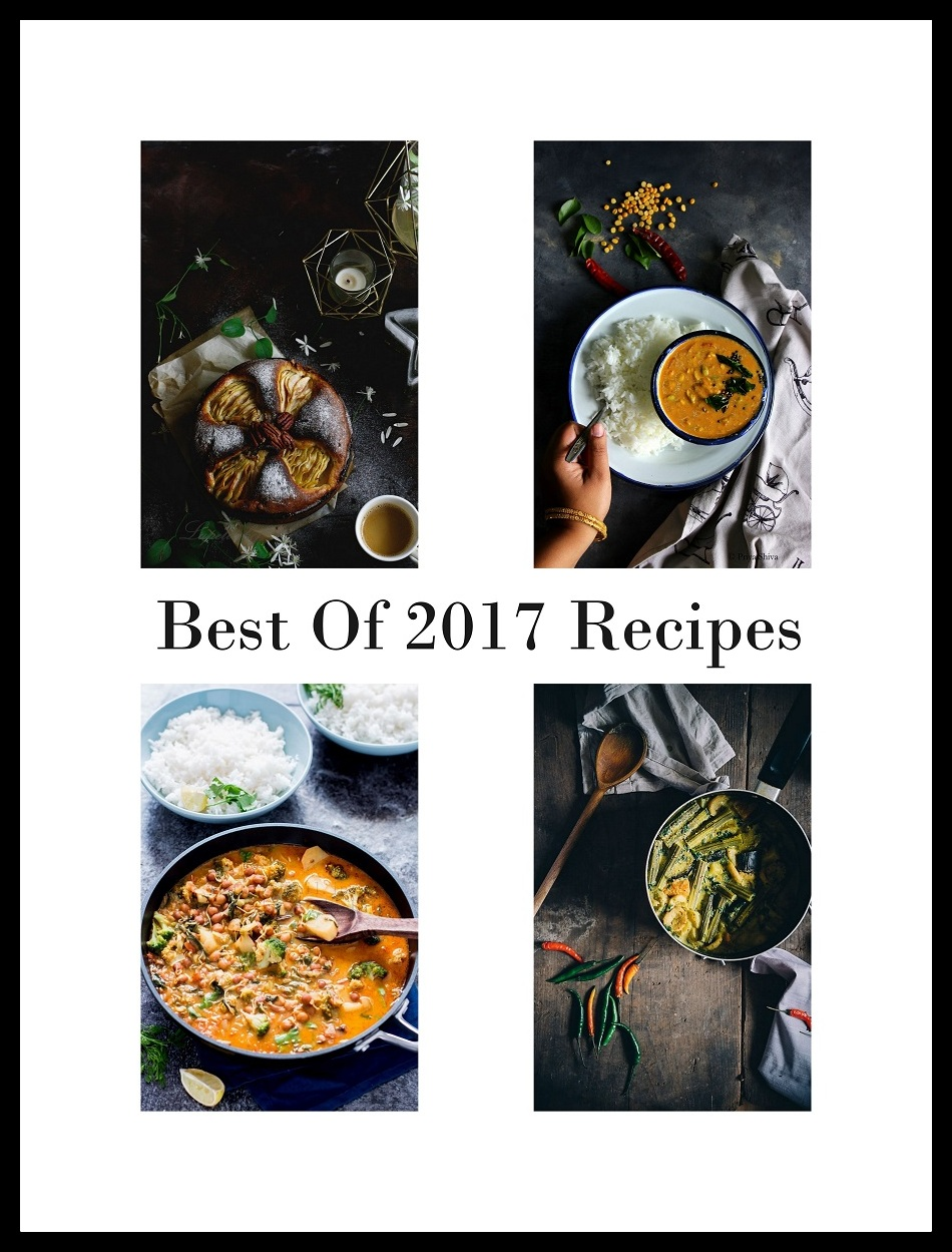 best of 2017 recipes - Priya Shiva