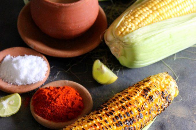Bhuna Butta – Roasted Corn On The Cob