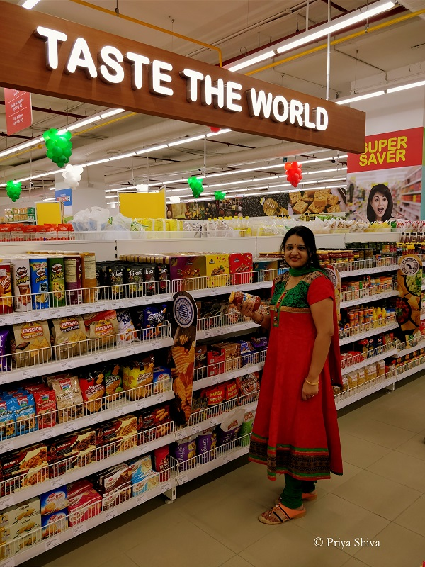 taste the world - Spar hypermarket vega city