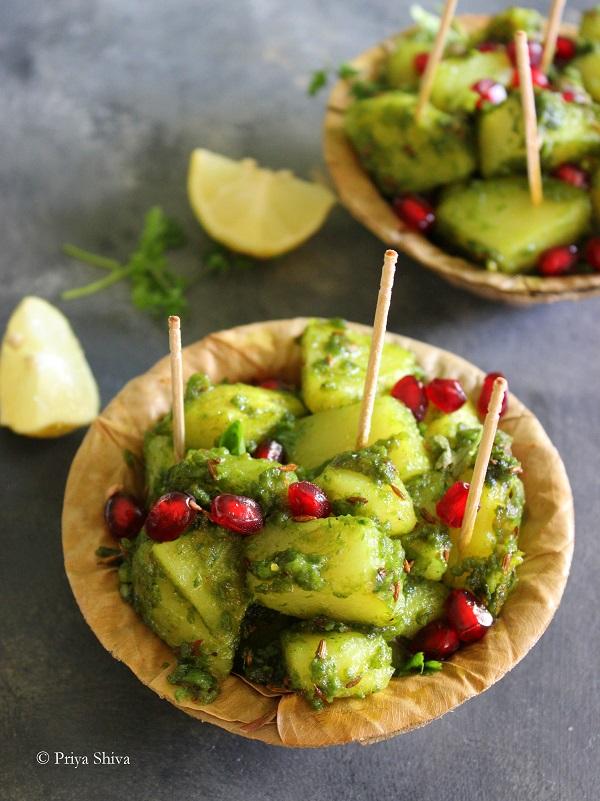 chutney wale aloo chaat recipe
