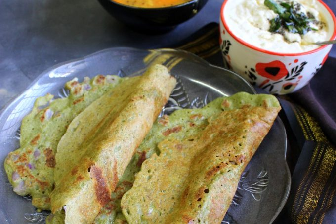 Pesarattu Recipe – Green Gram Dosa