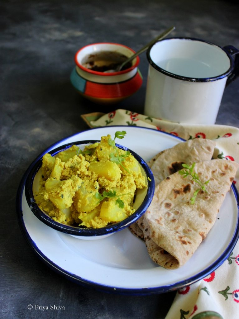 Bengali Aloo Posto Recipe