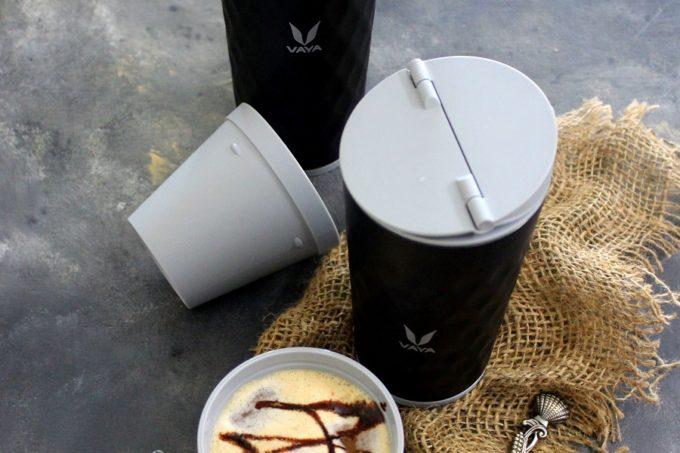 Cold Coffee Milkshake In Vaya Drynk Thermo Flask