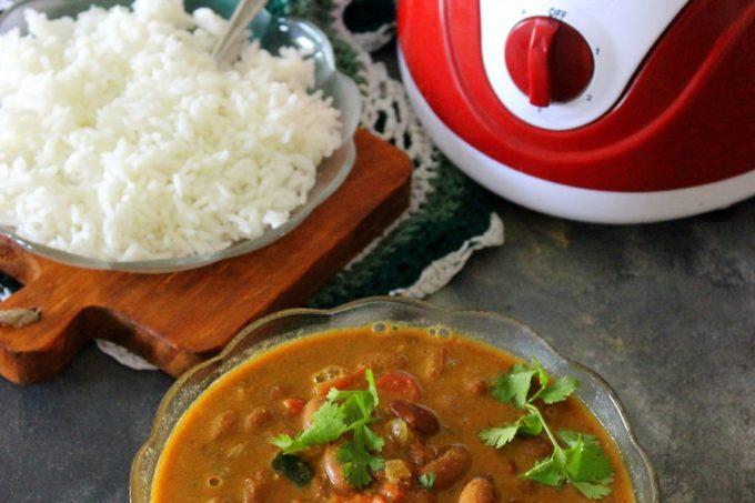 Rajma Coconut Curry – Pigeon Estella Juicer mixer Grinder Review