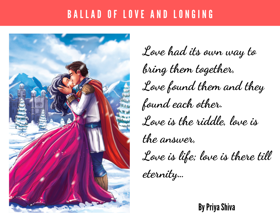 ballad of love and longing by Priya Shiva